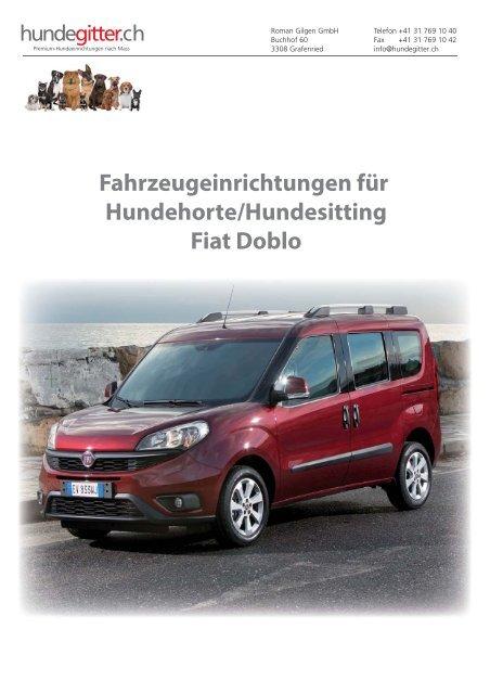 Fiat_Doblo_Hundehorte_Hundeeinrichtungen