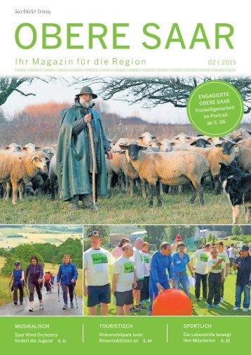 Gemeindemagazin Obere Saar 02|2015