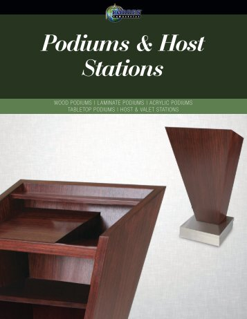 Podiums & Host Stations