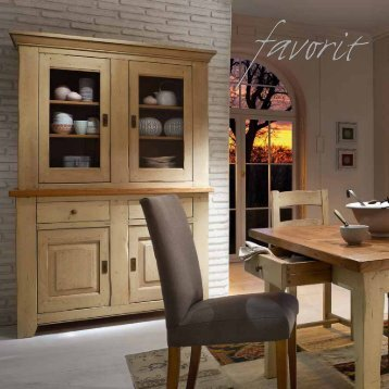 Massivholzmöbel für Wohn- und Speisezimmer