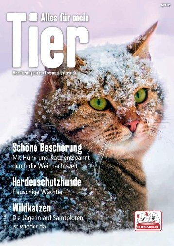 Fressnapf Österreich Journal November/Dezember