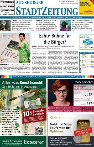 102 Augsburg - West 04.11.2015