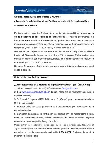 Instructivo (PDF) - la Feria Educativa Virtual