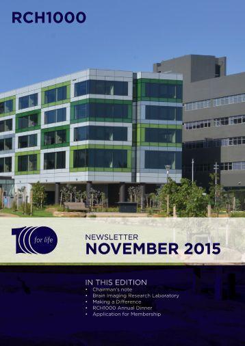 NOVEMBER 2015
