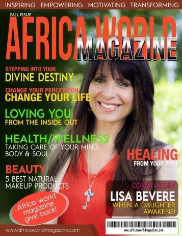 AFRICA WORLD MAGAZINE FALL ISSUE 2015
