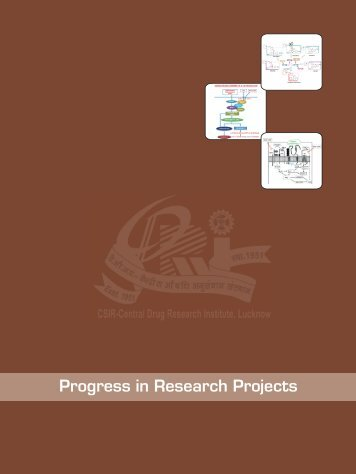 Cover design-1,2,3,4 - Central Drug Research Institute