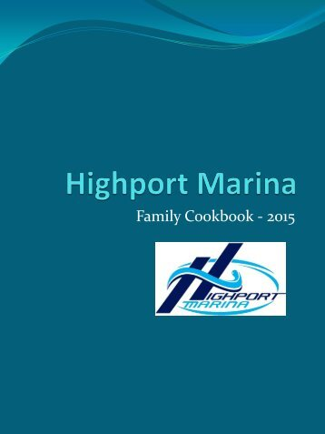 Family Cookbook - 2015