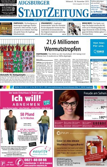 104 Augsburg Süd - Ost 18.11.2015
