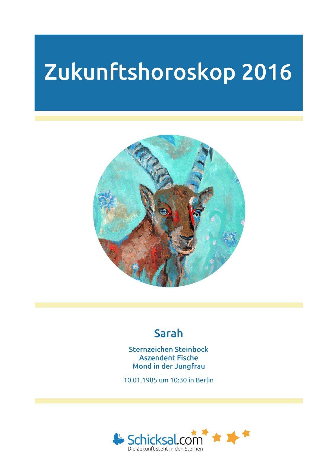 Steinbock – Zukunftshoroskop 2016