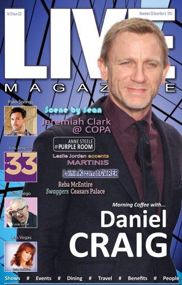 LIVE Magazine #222 November 20 through December 4, 2015