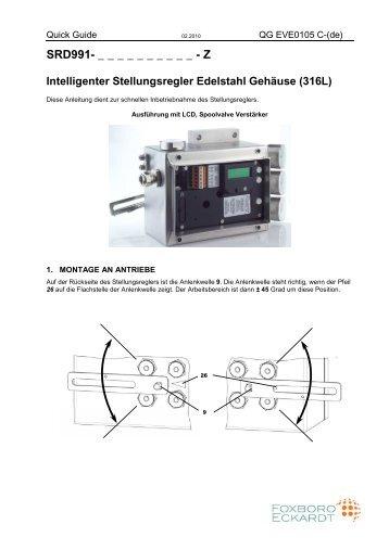 SRD991 - FOXBORO ECKARDT GmbH