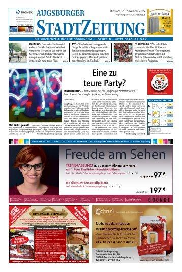 101 Augsburg - Süd 25.11.2015