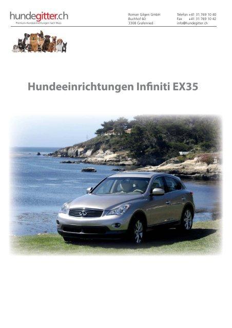 Infiniti_EX35_Hundeeinrichtungen