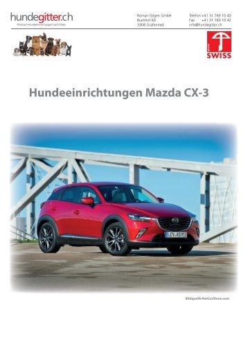 Mazda_CX-3_Hundeeinrichtungen