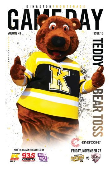 Kingston Frontenacs GameDay November 27, 2015