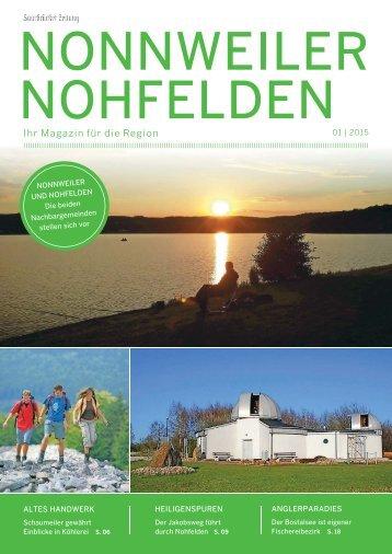 Gemeindemagazin Nonnweiler, Nohfelden 01|2015