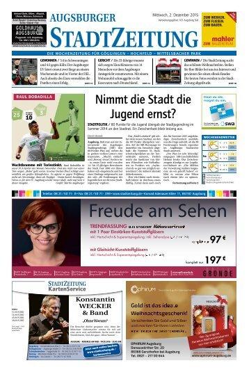 101 Augsburg - Süd 02.12.2015
