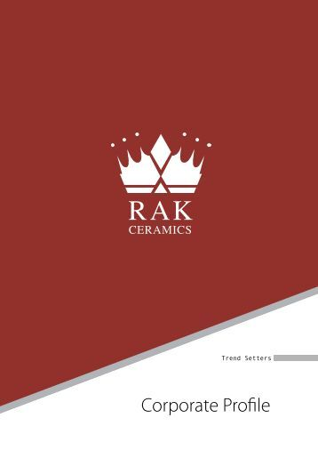 Corporate Profile - RAK Porcelain