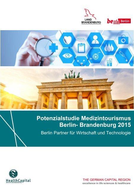Potenzialstudie Medizintourismus Berlin-Brandenburg_2015