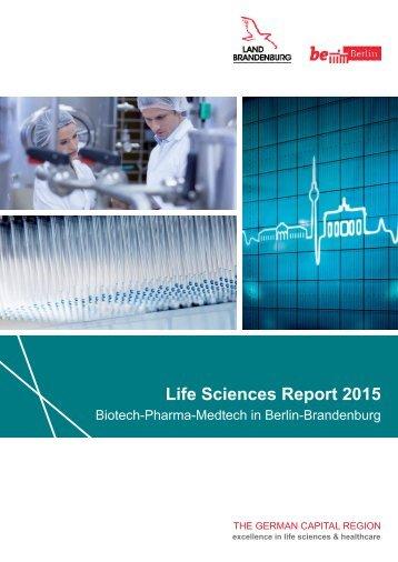 Life Sciences Report 2015