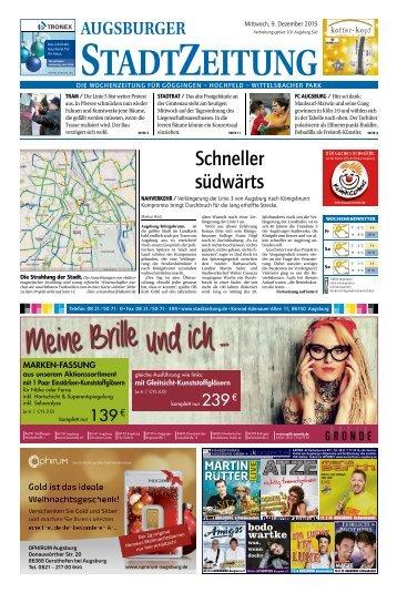 101 Augsburg - Süd 09.12.2015