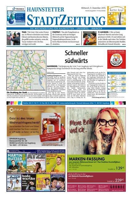 114 Augsburg - Haunstetten 09.12.2015
