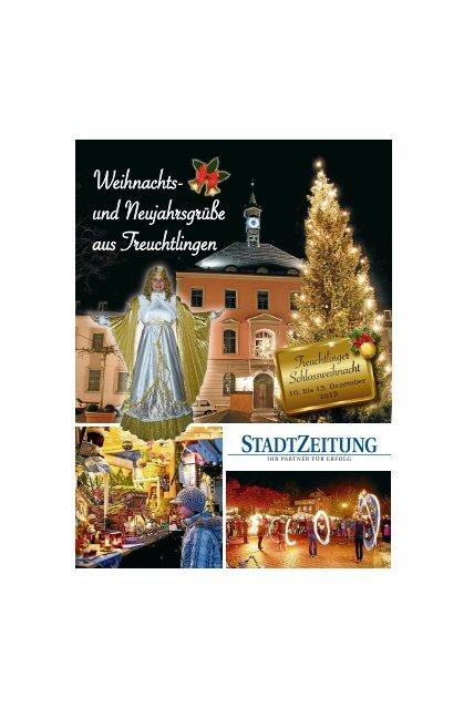 Weihnachts- und Neujahrsgrüße aus Treuchtlingen 2015