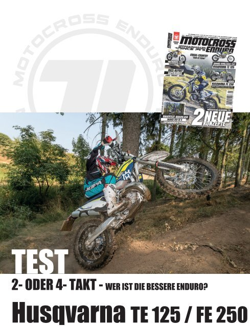Test Husqvarna TE 125 vs  FE 250