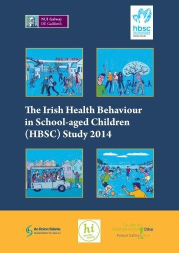 The Irish Health Behaviour in School-aged Children (HBSC) Study 2014