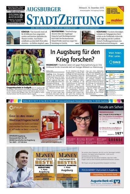 105 Augsburg - City 16.12.2015