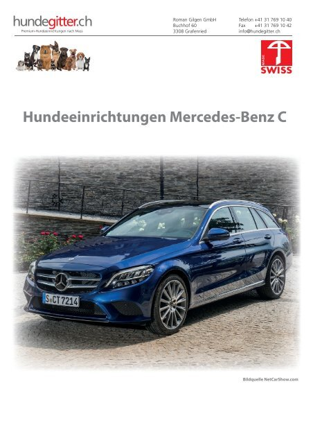 Mercedes_C_Hundeeinrichtungen