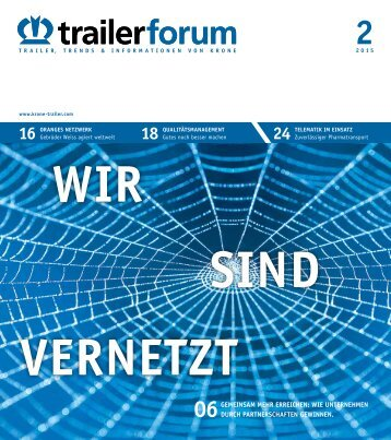 KRONE trailerforum 2-2015 (DE)