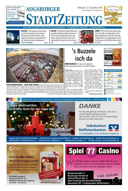 103 Augsburg - Ost 23.12.2015