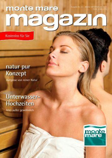 Monte Mare Magazin Winter 2015-2016