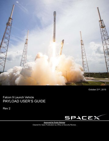 PAYLOAD USER'S GUIDE