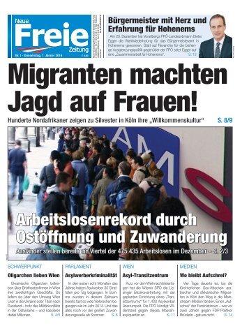 Migranten machten Jagd auf Frauen!
