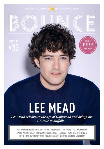 Bounce Magazine July 2015