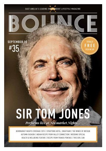 Bounce Magazine September 2015