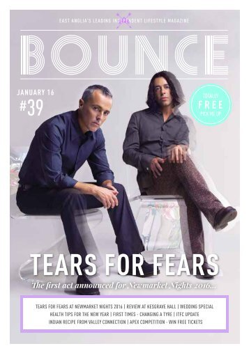 Bounce Magazine January 2016