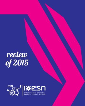 ESN KTU year in review 2015