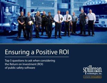 Ensuring a Positive ROI