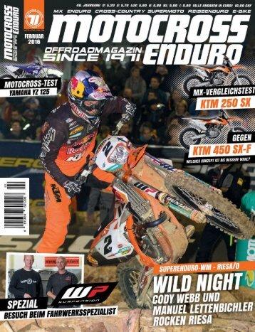 Motocross Enduro - 02/2016