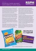 "Introducing ""activity equivalent"" calorie labelling to tackle obesity - Page 3"