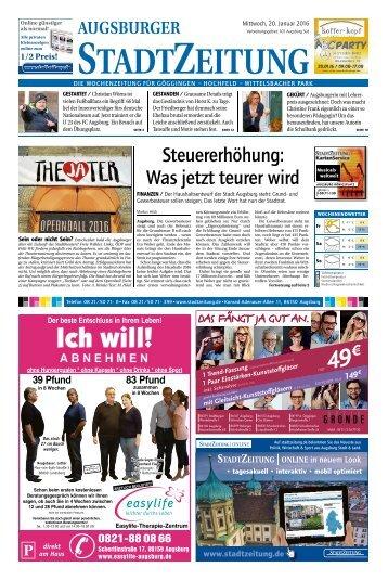 101 Augsburg Süd 20.01.2016