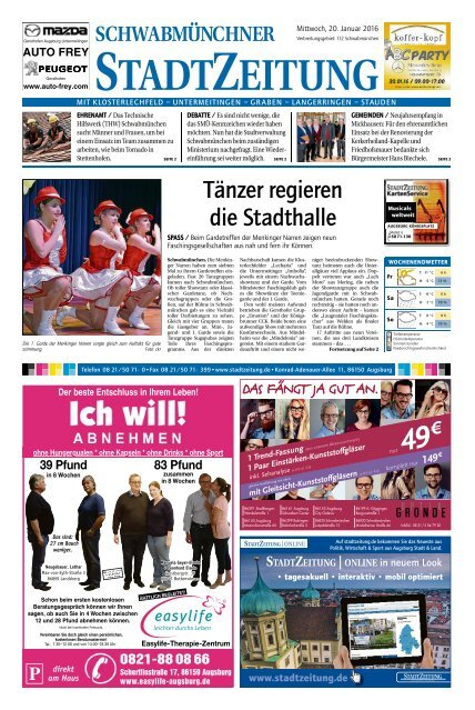 112 Schwabmünchen 20.01.2016