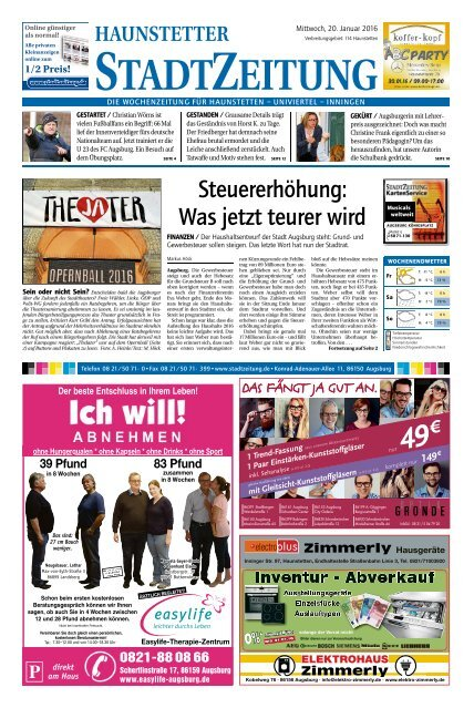 114 Augsburg - Haunstetten 20.01.2016