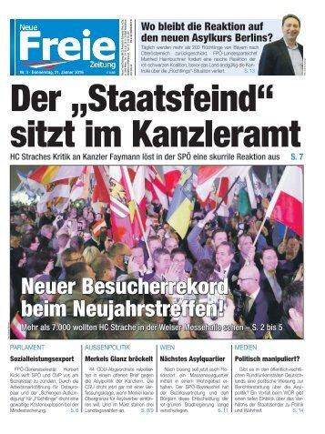 """Der """"Staatsfeind"""" sitzt im Kanzleramt"""