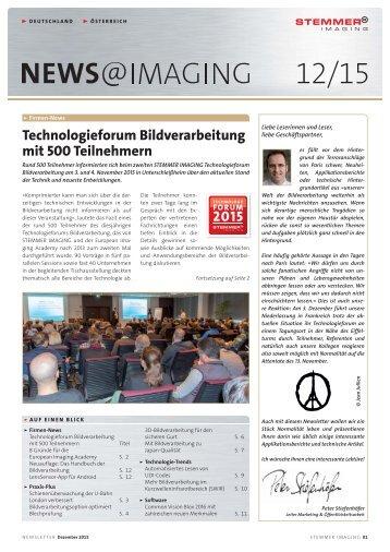 Newsletter | DE | 2015-12