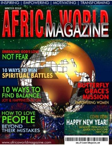 AFRICA WORLD MAGAZINE- WINTER ISSUE 2016