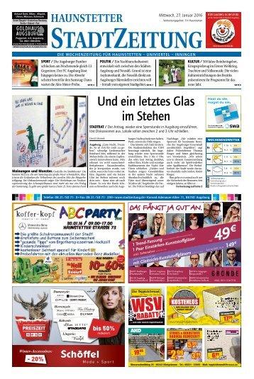 114 Augsburg - Haunstetten 27.01.2016
